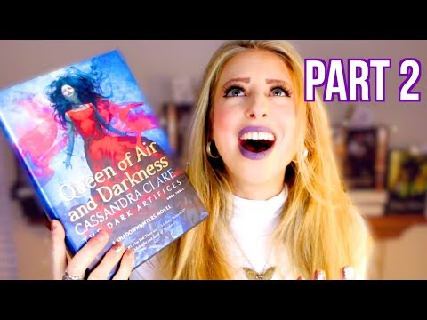 PART 2: QUEEN OF AIR AND DARKNESS BY CASSANDRA CLARE | booktalk wtih XTINEMAY