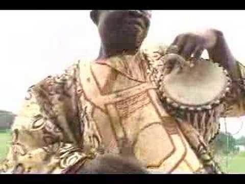 Ayan Bisi Adeleke - Master talking drummer - drum talks