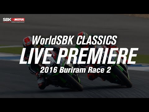 ワールドスーパーバイク 2016年に行われたWSBKブリラムのRace2 フルレース動画