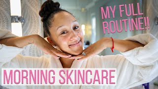 My Morning Skincare Routine | Tamera's Tips for Clear Skin