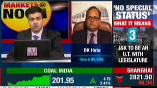 BEML CMD Speaks To ET Now – 05.08.2019