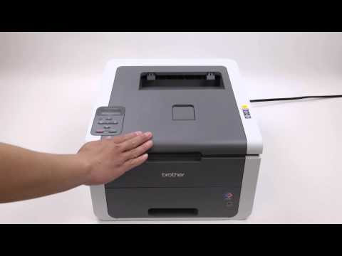 How to Reset Brother DR-221CL Drum Unit with Printer Brother HL-3140CW