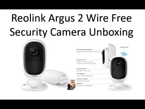 , title : 'UNBOXING Reolink Argus 2 - Outdoor Wireless Home Security Camera'