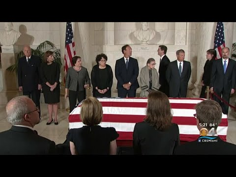 Many Politicians Gather To Remember Late Supreme Court Justice John Paul Stevens
