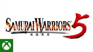 Xbox SAMURAI WARRIORS 5 - Announcement Trailer anuncio
