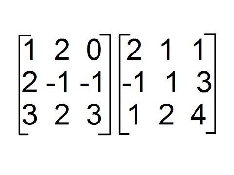 Multiplicación de Matrices 3x3 [Producto de Matrices de orden 3x3]