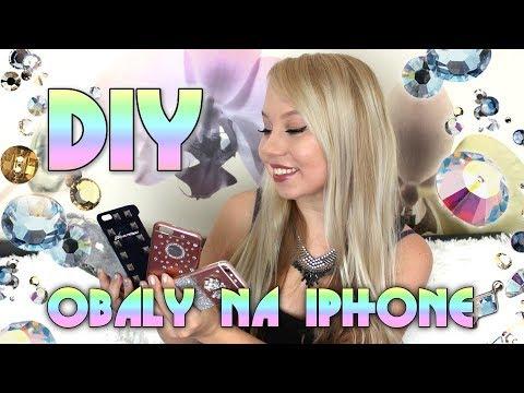 4 DIY obaly na mobilní telefon by Kate Wednesday