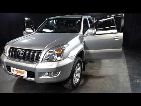Toyota LAND CRUISER 3.0 D4D 5h A, Maastoauto, Automaatti, Diesel, Neliveto, KRA-106