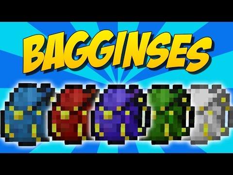 BAGGINSES: Mochilas Upgradeables Y Del Fin - Minecraft Mod 1.10/1.9/1.8.9/1.7.10