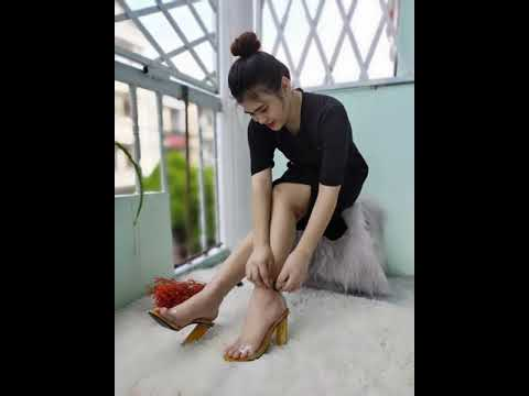 Giày sandal Mika gót 9cm cao cấp