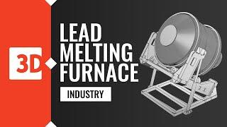 Lead Melting Furnace – detecting deformation