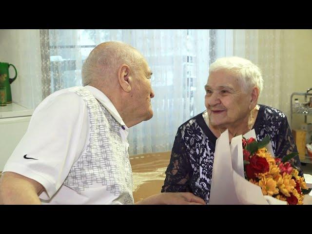 Ангарчане отметили железную свадьбу