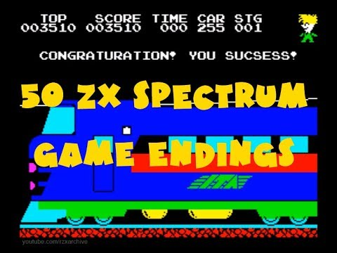Oglądaj: 50 ZX Spectrum Game Endings