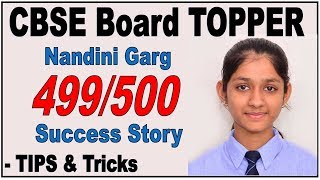 Topper Interview | Toppers' Tips & Tricks | Nandini Garg | How to become Topper ?