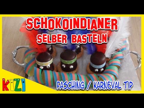 🍬 Kindergeburtstag Ideen - Schoko Indianer 🍬 Fasching / Karneval DEKORATION