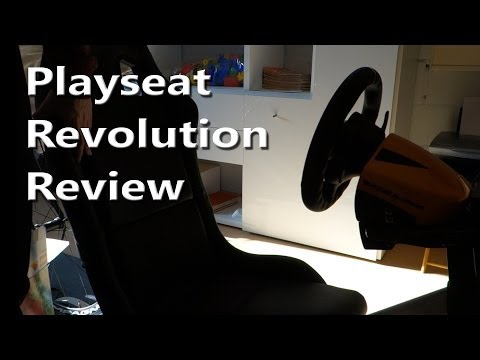 Playseat Revolution detailed review and unboxing