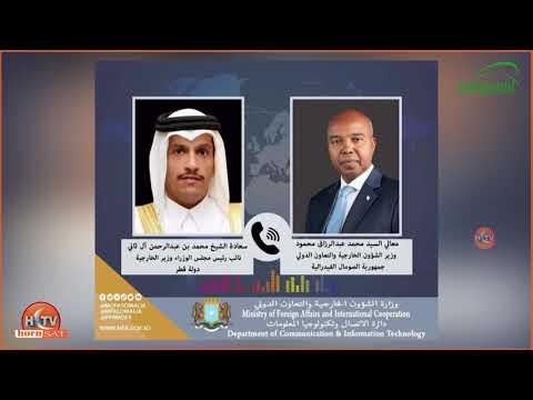 Dawlada Soomaaliya Oo Codsi Cusub U Gudbisay Qatar