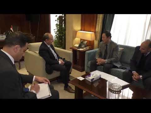 لقاء الوزير/ عمرو نصار مع ممثلي شركة LG مصر