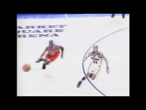 Reggie Miller 3 Point Buzzer Beater on Michael Jordan!