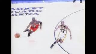 Reggie Miller 3 Point Buzzer Beater on Michael Jordan!