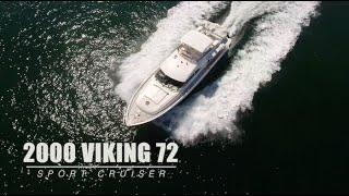 2000 Viking 72 Sport Cruiser DRAKO-9