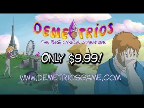 Demetrios - The BIG Cynical Adventure - Trailer! thumbnail