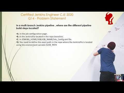 Certified Jenkins Engineer CJE 2020 Exam Practice Question 14 ...