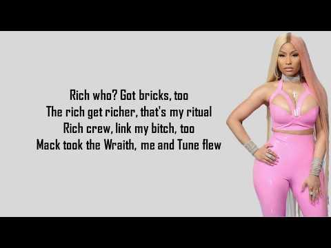 Nicki Minaj - Rich Sex (Lyrics) ft. Lil Wayne