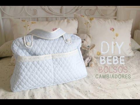 DIY Bebé: Cómo hacer una bolsa para pañales (patrones gratis)