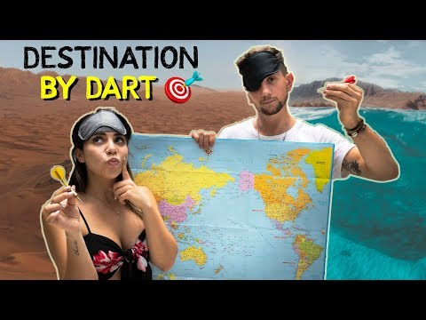 Throwing a Dart at a Map and Traveling WHEREVER it Lands