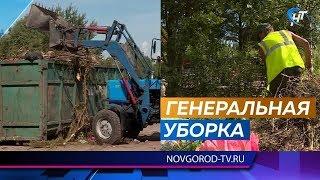 Новгородцы жалуются на уборку кладбищ