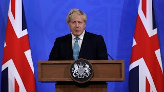 video: Boris Johnson warns of 'real risk of disruption' to lockdown easing amid fears over Indian variant