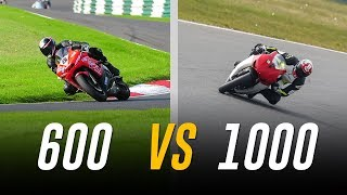 600cc vs 1000cc on Track: The Differences & Which is Best?