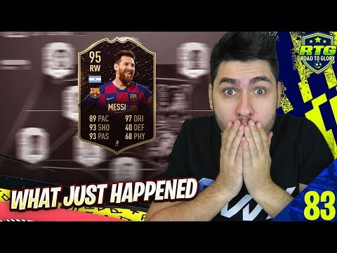 FIFA 20 I GOT IF MESSI AND THEN THIS HAPPENED !!!! OMG WHAT ARE YOU DOING EA SPORTS !!!