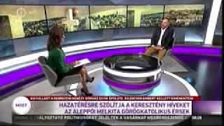 Hölvényi György az M1 Ma reggel c. műsorában 2018.03.11.