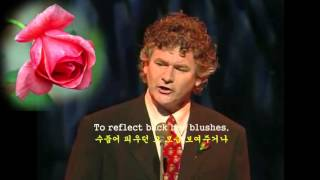 The Last Rose of Summer -John McDermott  여름날의 마지막 장미꽃 -English subtitles