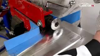 Blecharbeiten - Bodenblech Sicken richtig umformen