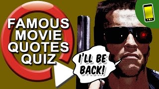 Movie Quiz | Famous Movie Quotes