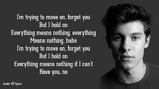 Shawn Mendes   IF I CAN'T HAVE YOU (Lyrics)