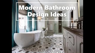 Modern Bathroom Trends 2020 - 50 Design Ideas