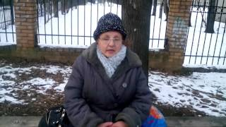 Сумасшедшая бабка рассказывает про аборты)))