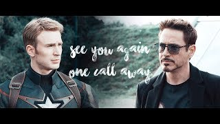 Tony & Steve L See You Again/One Call Away [Civil War]