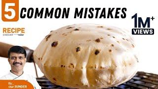 Phulka Recipe   soft Chapati   Soft Roti   Avoid the 5 common mistakes   Tips & Tricks