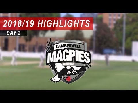 2018/19 Round 13 vs Camberwell Magpies 2nd XI: Day 2 Highlights