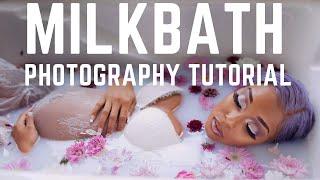 Milk Bath Photography Tips & Tricks | Maternity Milkbath Photo Shoot Tutorial