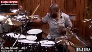 John Blackwell R.I.P.: Drum Solo Jeremiah's Sleepy Night