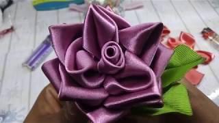 Rosas De Listón/ Satín Flowers/ Handmade Flowers