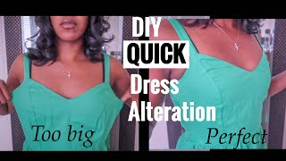 How To Alter Oversized Garment | Resizing | Loose To Fit | Sewing 101