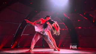 "[SYTYCD8] Allison Holker & Marko Germar [Contemporary] ""I Know It's Over"" Sonya Tayeh"