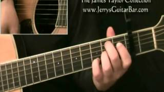 How To Play James Taylor Steamroller Introduction